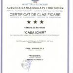Certificat clasificare CASA ICHIM Sf.Gh. 05.08.2014- fata 001